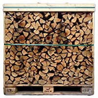 Tigerbox® 1.2 Cubic Metre Crate of Kiln Dried Ash Wood Logs.