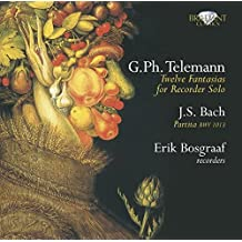 Telemann: Fantasien for Recorder Solo