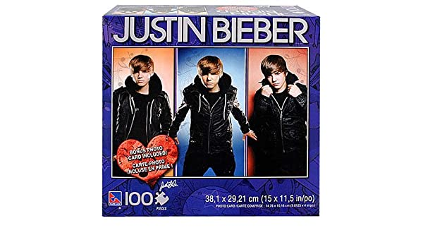 Justin Bieber Puzzle 100 Pieces Picture A Amazoncouk Toys
