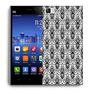 Snoogg Abstract Pattern Brown Designer Protective Phone Back Case Cover For Xiaomi Mi 3
