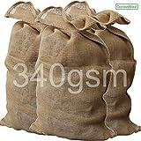 GardenMate® 6x Bolsas de Arpillera PREMIUM 135 x 65 cm 340gsm