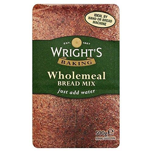 Wright\'s Mezcla De Pan Integral (500g) (Paquete de 2)