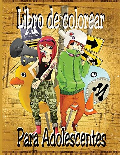 Libro de colorear para adolescentes