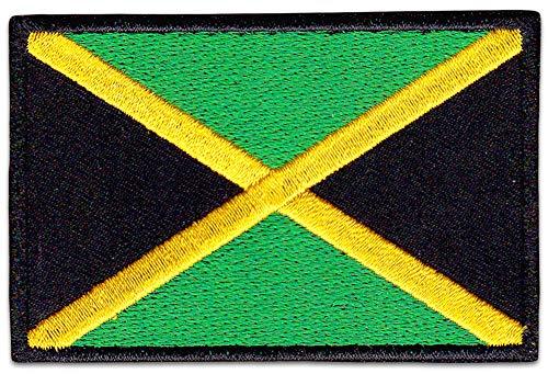 Parche bandera Kingston coser planchar Reggae Raggaton