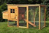Miweba Hühnerstall My Animal MH-04 mit Eiablage Hühnervoliere Hühnerhaus Eiablage Hühnerkäfig Käfig für bis zu 6 Hühnern