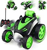 VIKASGIFTGALLERY Stunt Vehicle 360°Rotating Rolling Electronic Radio RC Remote Control Toy Charging car Toys for Boys…