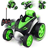 VIKASGIFTGALLERY Stunt Vehicle 360°Rotating Rolling Electronic Radio RC Remote Control Toy Charging car Toys for Boys Kids (
