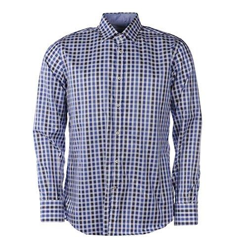 Delsiena -  camicia casual  - uomo blue, white