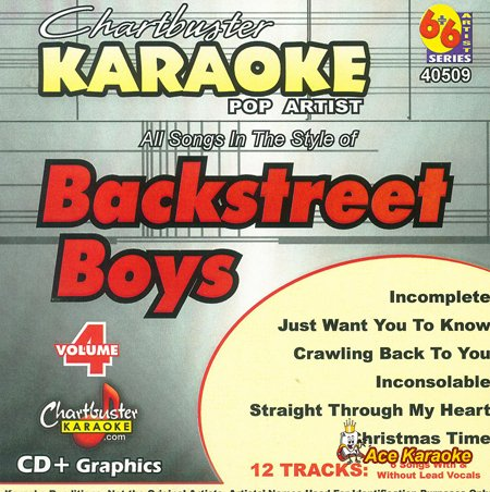 Backstreet Boys 4 (Karaoke-cds Backstreet Boys)