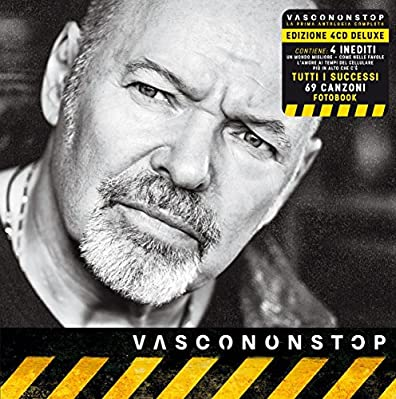 VASCONONSTOP - VASCO ROSSI 4 CD