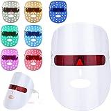 7 Couleur LED Photon Masque,acné Masque de luminothérapie,Masque facial de luminothérapie,Rides Acné Retrait Visage Rajeuniss