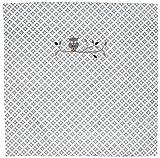 TAFTAN DD-710 Baby Bettwaesche Eulen für Wiege und Kinderwagen, 80 x 80 cm, grau
