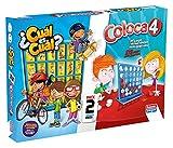 Falomir- Coloca 4 Cuál (Pack Mesa. Juegos Clásicos. (646474)