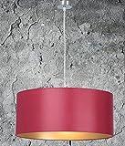 Clásica Lámpara de techo, de alta calidad Colgante | Rojo Oro | XXL | lámpara de techo, Salón, comedor | Dormitorio | Cocina | Diámetro 55cm | pantalla redonda | Modern | LED Adecuado | regulable |