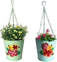 Kraft Seeds GUL Railing Hanging Planter and Holder (Set of 2)