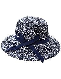 Sombrero del Sol Gorra Verano Primavera Plegable en Forma de Campana Mujer Niñas