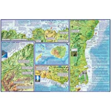 Franko Maps Kauai Guide Map for Scuba Divers and Snorkelers