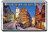 0383 ROTHENBURG OB DER TAUBER KÜHLSCHRANKMAGNET THE CITY OF GERMANY REFRIGERATOR MAGNET GERMANY LANDMARKS, GERMANY ATTRACTIONS