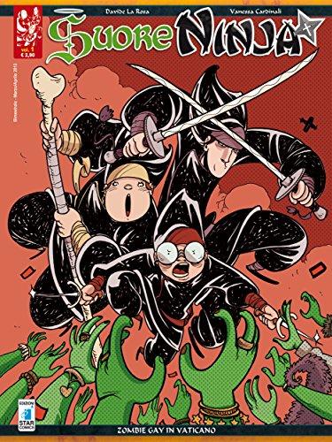 Suore Ninja n°1 - Zombie gay in Vaticano (Italian Edition ...