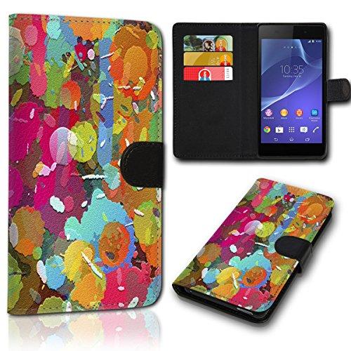 Book Style Alcatel One Touch Go Play 7048X Tasche Flip Brieftasche Handy Hülle Kartenfächer für Alcatel One Touch Go Play 7048X - Design Flip SVH14