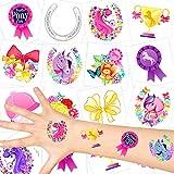 German-Trendseller  - Pferde Kinder Tattoos - Set ┃ Neu ┃ Pferde Party ┃ Kindergeburtstag ┃ Mitgebsel ┃36 Tattoos