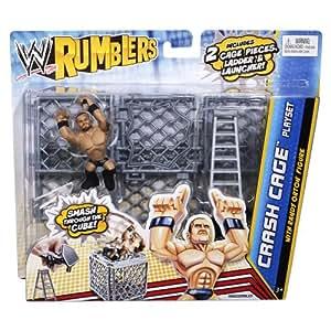 WWE - Catch - Mini Figurines - Rumblers - Randy Orton avec Mini Cage et accessoires