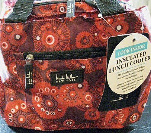 nicole-miller-of-new-york-insulated-lunch-cooler-fushion-red-11-lunch-tote-by-nicole-miller