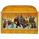 #4: India Get Shopping Gemstone Painted Keys Letter Holder Handicraft