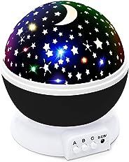 CYMY Proiettore di luce di notte stellato Rotazione di 360 gradi, i migliori regali