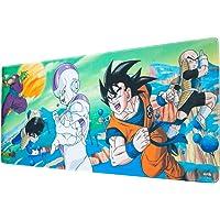 Erik® - Tapis de Souris Gaming XL Dragon Ball Z - Sous-Main Antidérapant - 80 x 35 cm