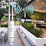 Lifesongs Wavlink High Power Außen Wasserdicht CPE/WiFi Extender/Repeater/Access Point/Router/Wisp 2.4 GHz 150 Mbps + 5 GHz 433 Mbps Polarized 1000 mW 28dBm Rundstrahlantenne