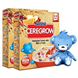 #7: Nestle Ceregrow, 300g (Pack of 2) with Free Toy Teddy Bear