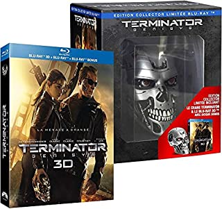 Terminator Genisys [édition collector Endoskull Blu-ray 3D] [Édition collector limitée Blu-ray Endoskull - Blu-ray 3D + Blu-ray + Blu-ray bonus + Crâne Terminator] (B011BLA3KS) | Amazon price tracker / tracking, Amazon price history charts, Amazon price watches, Amazon price drop alerts