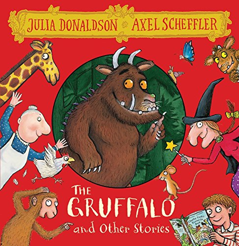 The Gruffalo and Friends. 8 CDs: The Gruffalo / The Smartest Giant / A Squash and a Squeeze / Room on the Broom / The Snail and the Whale / Monkey Puzzle