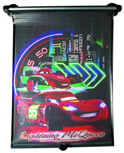 Kaufmann CASAA114 Cars Neon Sonnenschutzrollo Bedruckt
