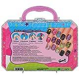 Gloss!  Kit Stickers de Nail Art Fancy Nail Patch 22 Pièces, Coffret Cadeau-Coffret Maquillage