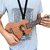 SG Musical Ukulele Strap Belt Sling with Hook Adjustable Length Fits Ukulele
