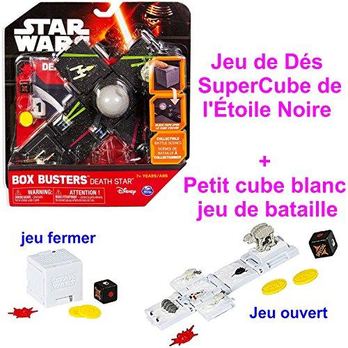 Box Cube Buster schwarz Stars Wars Death Star + kleine Box Cube Farbe Weiß