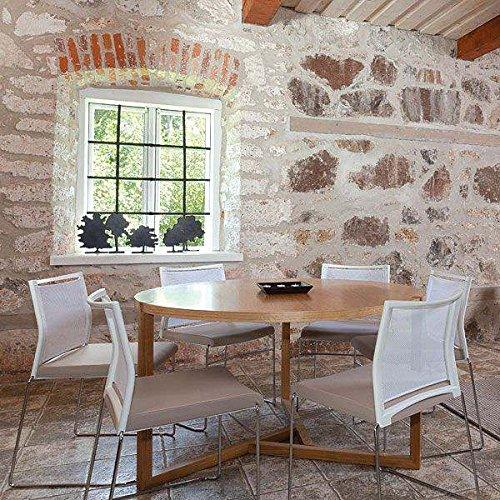 Grande table ronde - Collection SCANDIWOOD en chêne massif et placage chêne de haute qualité - une ambiance chaleureuse - Grande Table ronde Ø 135 cm