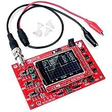 'Quimat 2,4pollici Digital oscilloscopio Kit Open Source TFT 1msps con sonde montato Vision F ¨ ¹ R DSO138oscilloscopio lloscope