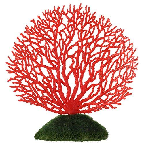 Corallo Artificiale Pesci Serbatoio Ornamento di Corallo Artificiale Corallo Plastica Decorazione di Acquario Corallo Artificiale Coral Fish Tank