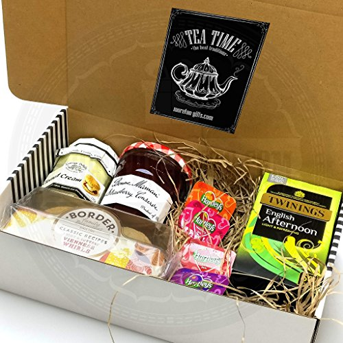 Moreton Gifts A Gift Just for You Tea Time Gift Box - Afternoon Tea - Perfect for Wimbledon