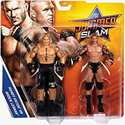WWE Summerslam PPV Battle Pack Serie 2017 Acción Wrestling Figuras - BROCK LESNAR VS Randy Orton - The Beast VS THE VIPER