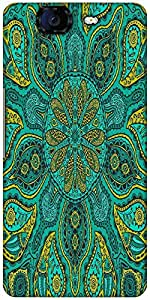 Snoogg Ornamental Lace Pattern Designer Protective Back Case Cover For Microm...