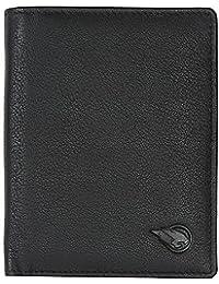 [Sponsored]RUGE Men's Black Genuine Leather Front Pocket Wallet Along With 7 Card Holder, 2 Cash Compartment, 1 Id Card Holder...