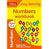 Numbers Workbook Ages 3-5: Prepare for Preschool with Easy Home Learning