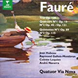 Quintettes, quatuors, trios / Gabriel Fauré | Fauré, Gabriel (1845-1924)