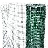 Festnight Treillis métallique Clôtures pour Le Jardin volières Grillage pour Plantes et Animaux Mailles 16x 16 mm