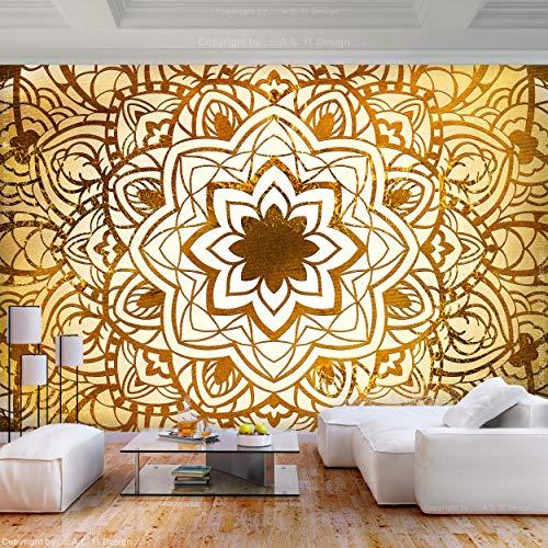 Decomonkey | Fototapete Mandala 500x280 Cm XXL | Tapete | Wandbild |  Wandbild | Bild | Fototapeten | Tapeten | Wandtapete | Wanddeko |  Wandtapeten | Muster ...