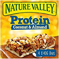 Nature Valley Protein Coconut & Almond Cereal Bars 8x4x40g (32 bars)